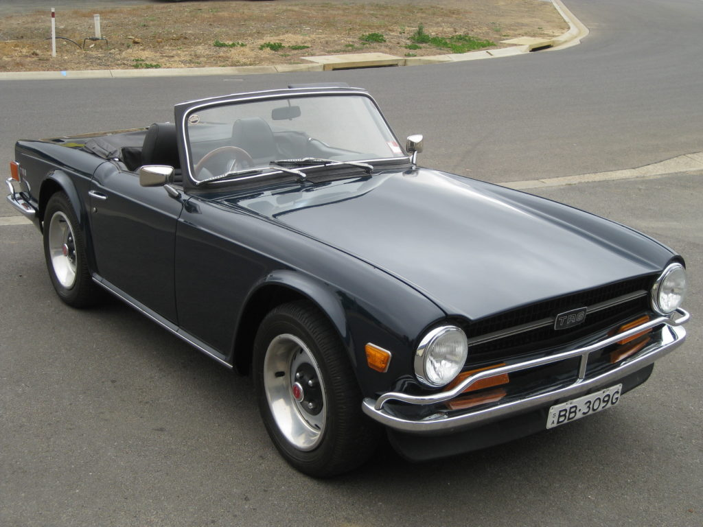 1972 Triumph TR6 – Collectable Classic Cars