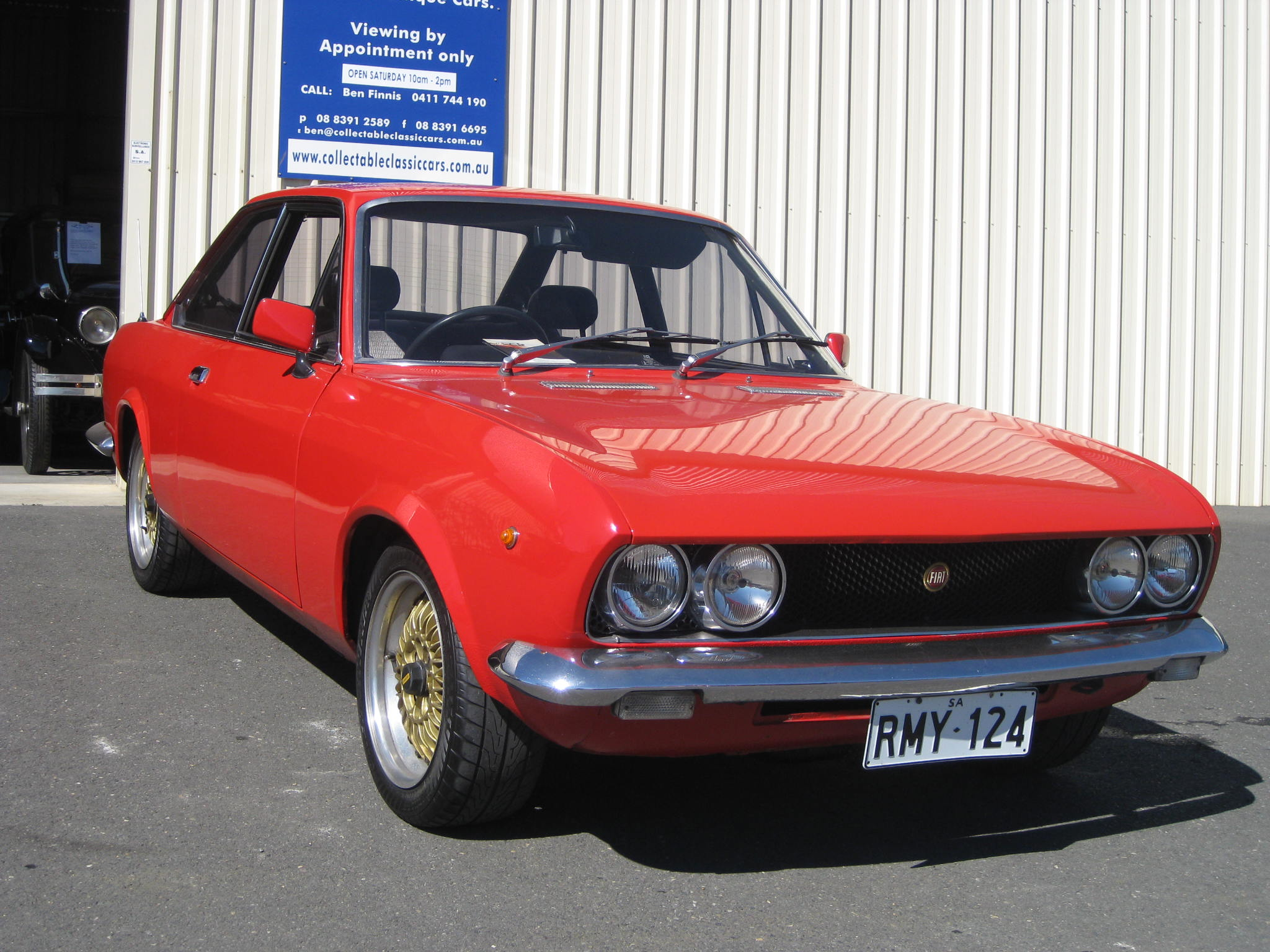 1972 Fiat 124 BC – Collectable Classic Cars