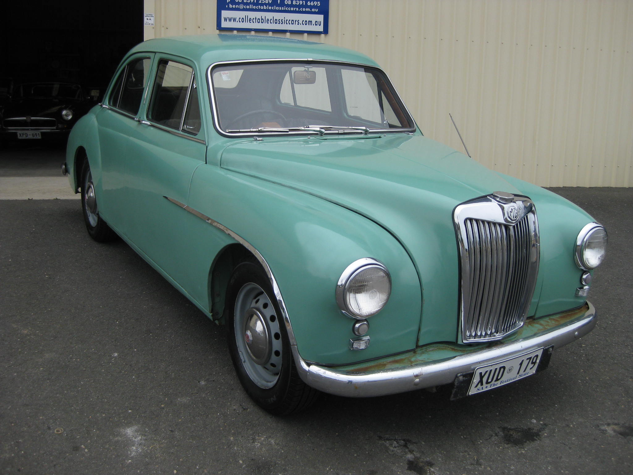 1955 MG ZA Magnette – Collectable Classic Cars