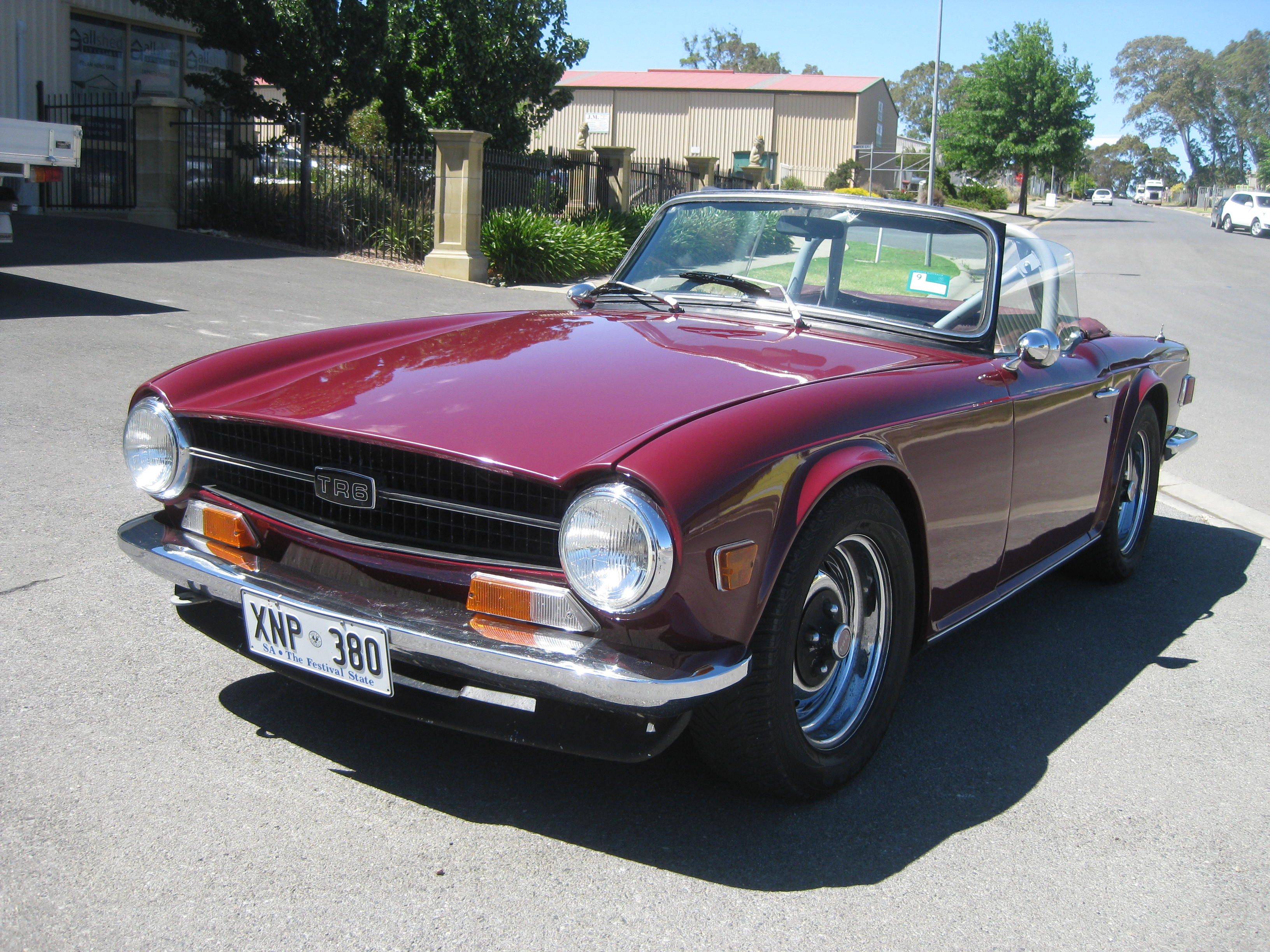 1969 Triumph TR6 – Collectable Classic Cars