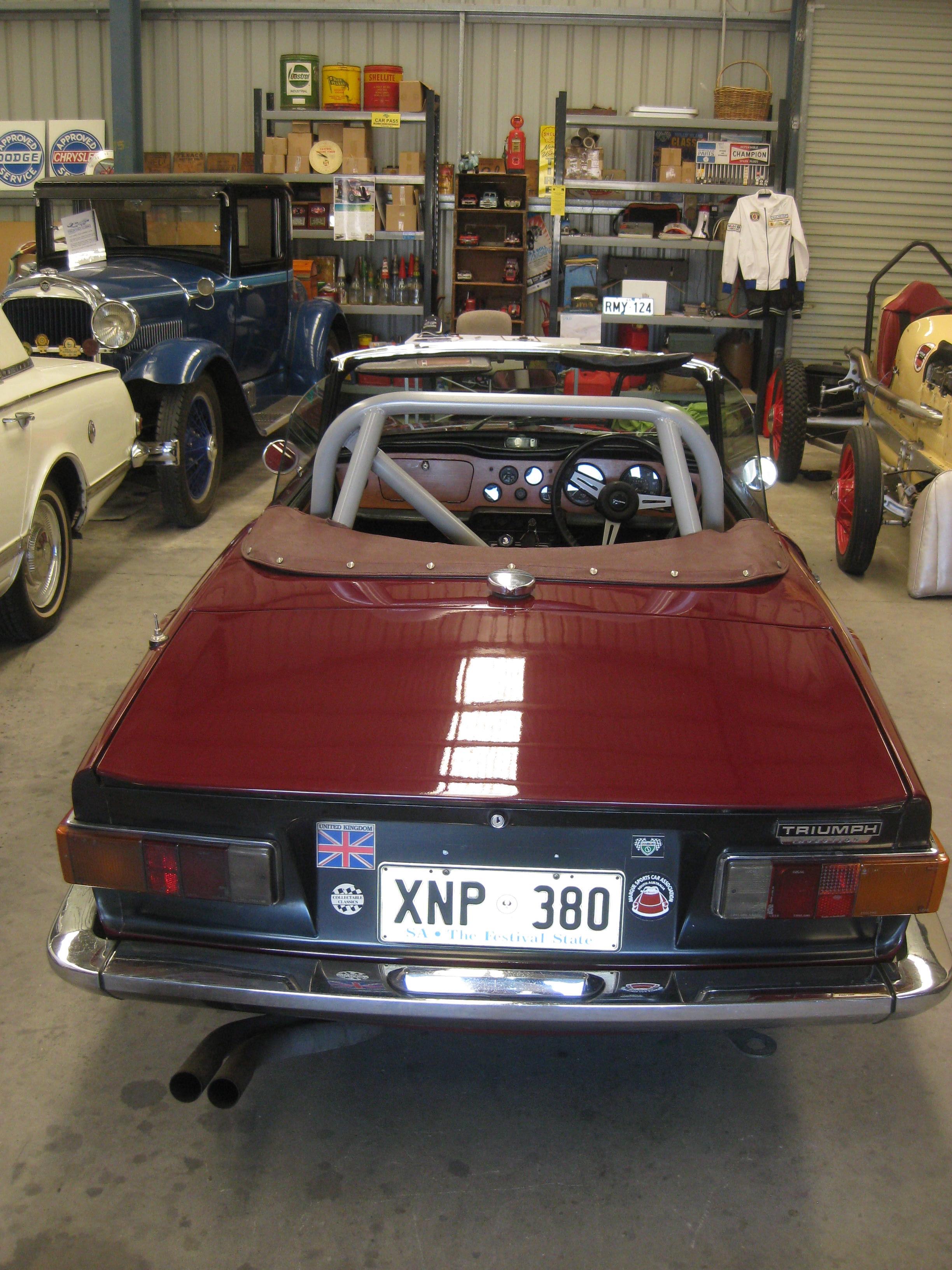 1969 Triumph TR6 – Collectable Classic Cars