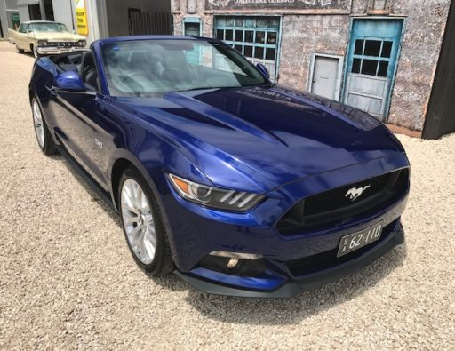 Just Arrived 2016 Ford Mustang V8 Convertible