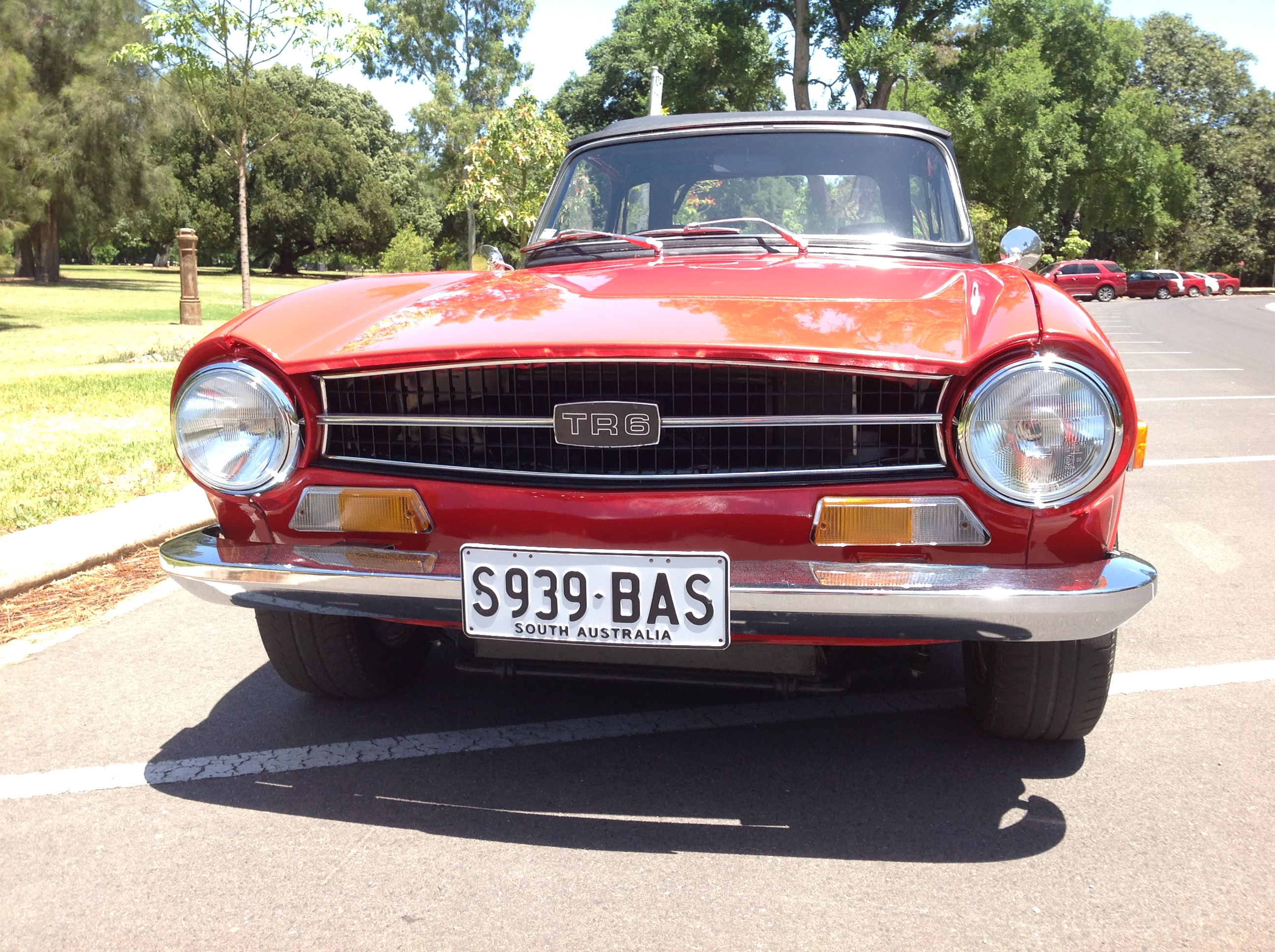 Triumph TR6 RHD Fuel Injected 150 HP Model- SOLD – Collectable ...