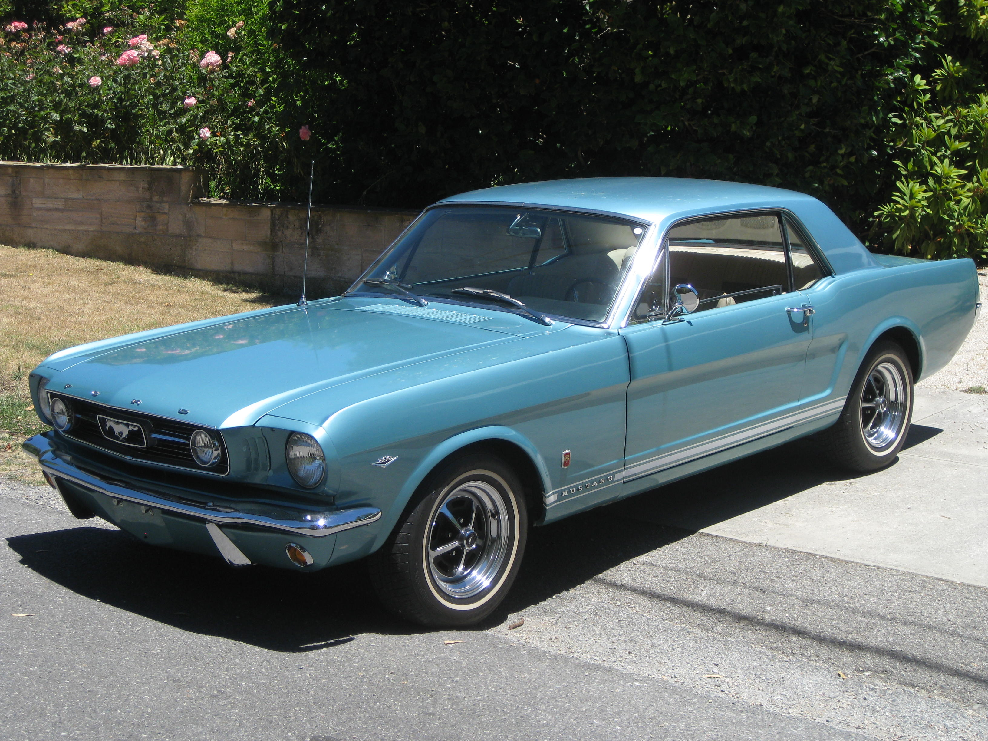 1966 Ford Mustang GT V8 – Collectable Classic Cars