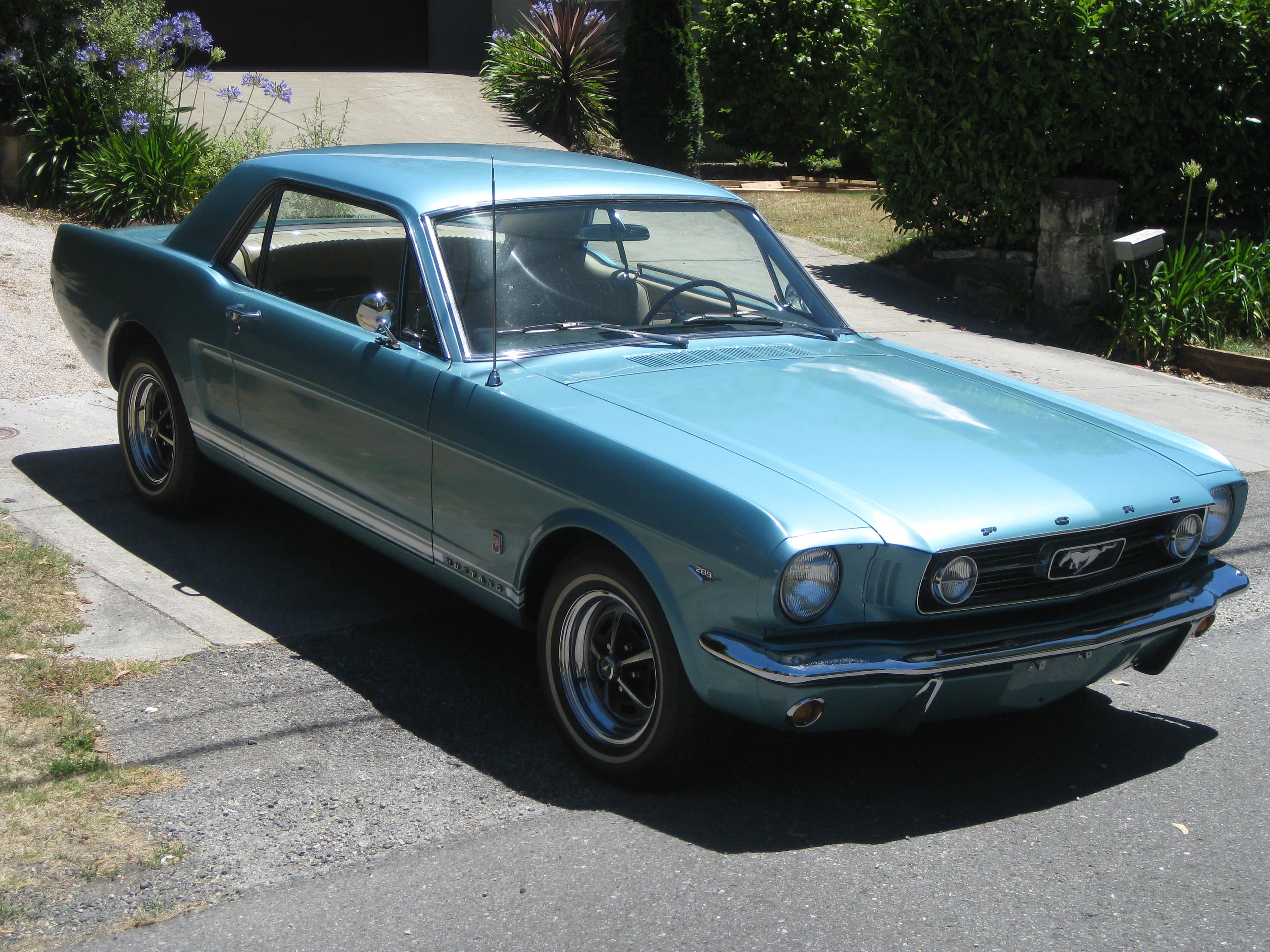 1966 ford mustang gt v8 collectable classic cars