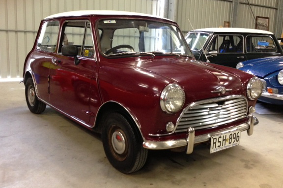1968 Morris Mini Deluxe Collectable Classic Cars