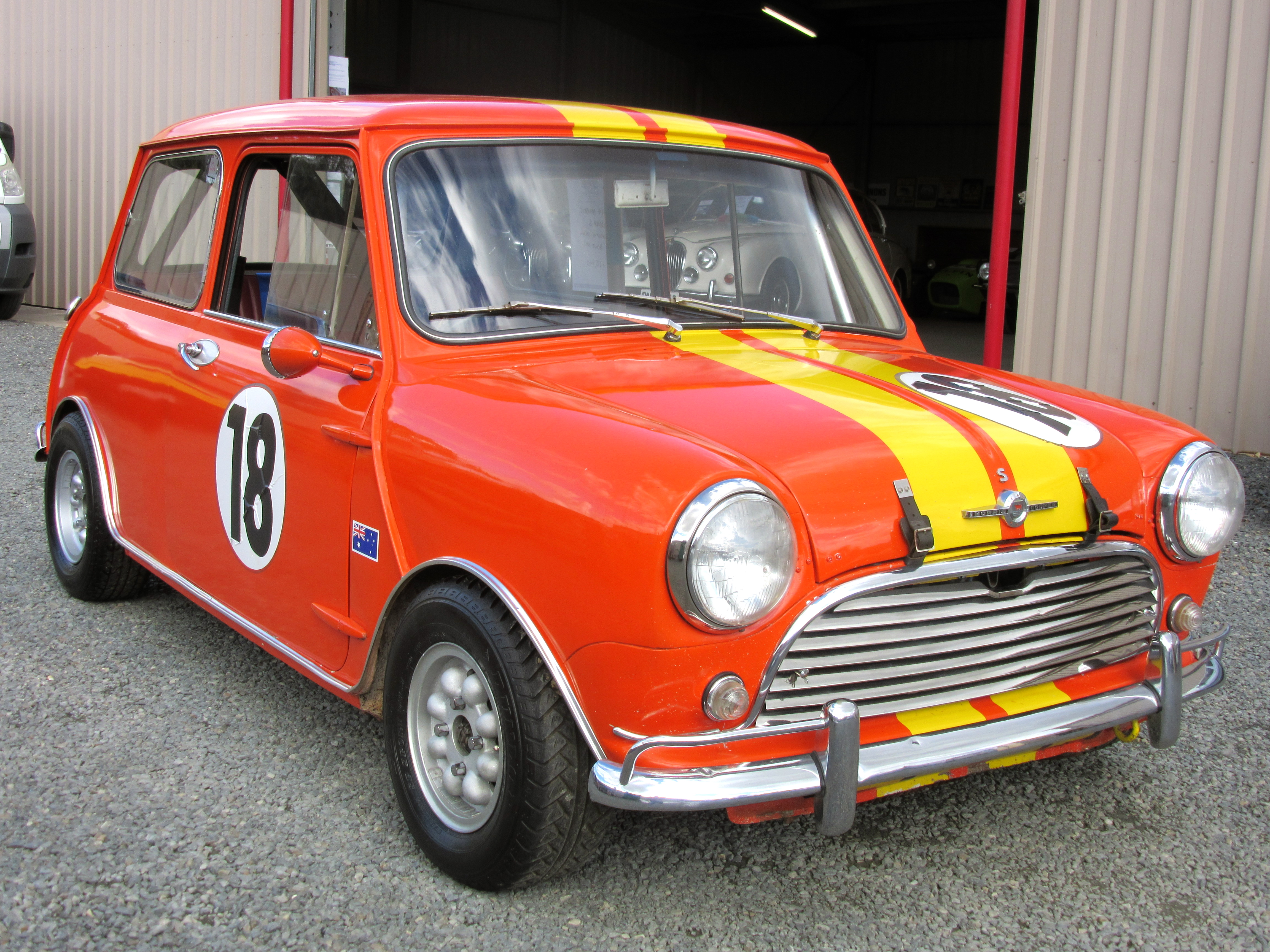 1964 Morris Cooper S Nb Historic Racing Car Collectable Classic