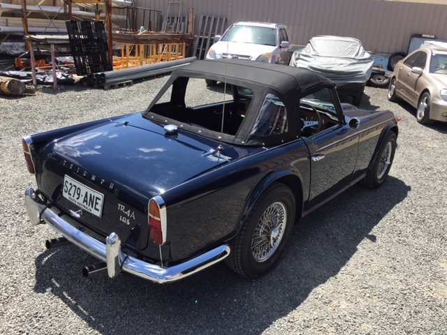 1967 Triumph TR4 A – Collectable Classic Cars